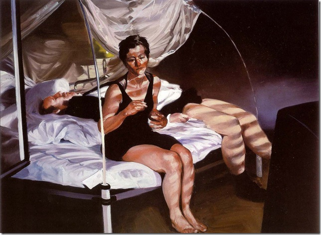 eric fischl -Krefeld Project Bedroom Scene 1, 2002.
