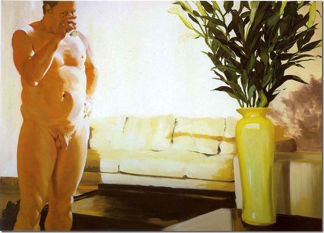 eric fischl -Krefeld Project Living Room Scene 1, 2002.