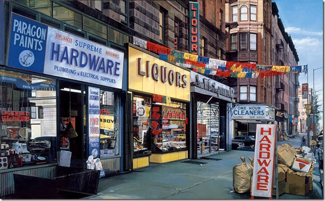 Richard Estes- supreme - hardware-1974