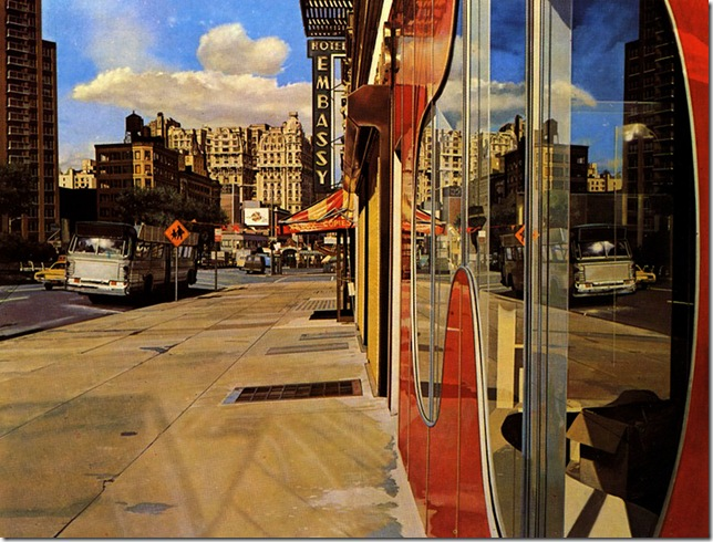 RICHARD ESTESBus Reflections (Ansonia) 1974
