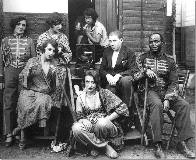 August Sander  - El circo