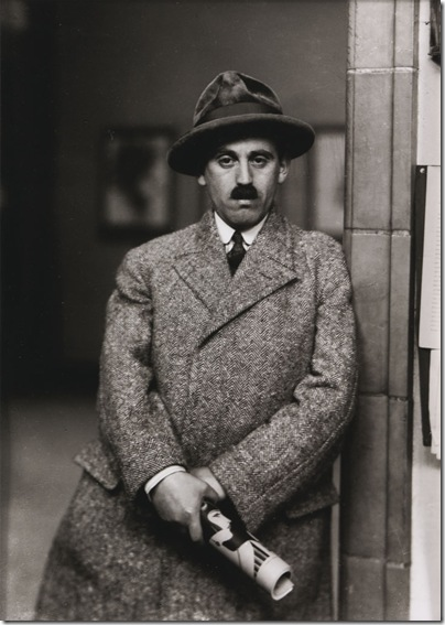 August Sander - Art Dealer [Sam Saltz] 1927