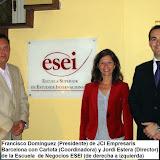 Mi participación en el Tribunal de Planes de Empresa de la Escuela de Negocios Internacional ESEI