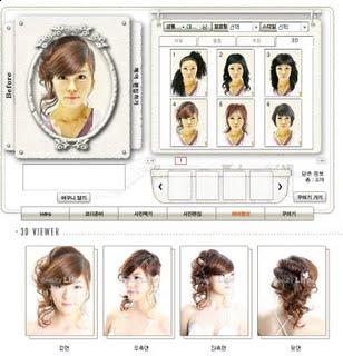 Different colors can be selected, and sometimes simple modification of the hair styles such as reducing length or some sections