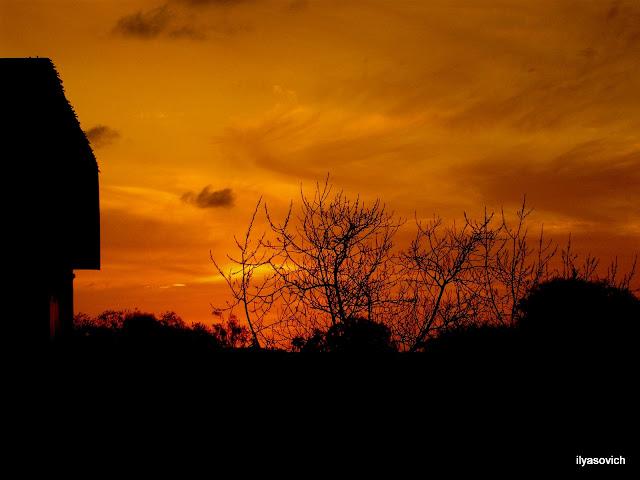 Coucher du soleil et Crépuscule urbains DSCF7347