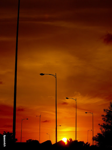 Coucher du soleil et Crépuscule urbains DSCF7339