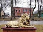Lauva, kas sargā Jaunjelgavu
