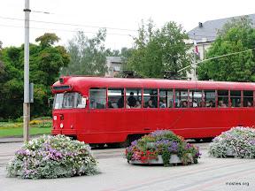 Daugavpils vecais grabošais tramvajs