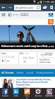 Screenshot of AT&T Browser Bar