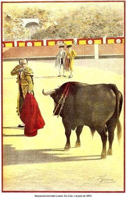 Mazzantini entrando a matar (La Lidia 01-07-1895) 001