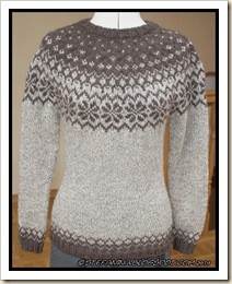 Eco star sweater