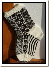 Die braune Insel - 1st sock