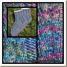 Primavera socks -montage