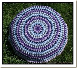 Granny Mandala cushion