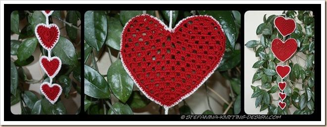 Coeurs rouge