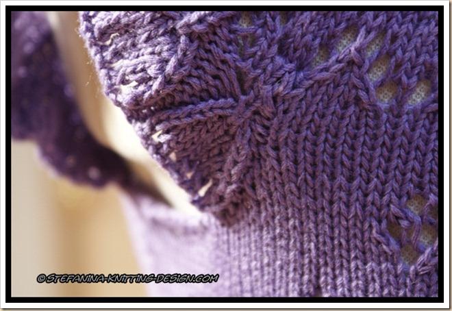 Hirondelle - sleeve sewing detail