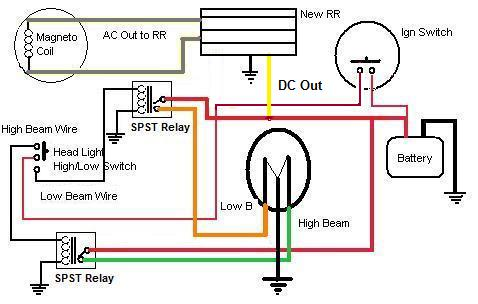 RR Wiring let there be light bike lighting, hid etc page 101 bajaj discover 135 wiring diagram pdf at gsmx.co
