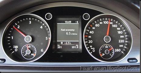 Mätare Volkswagen Passat 2011 TDI Masters BlueMotion - Instrumentering