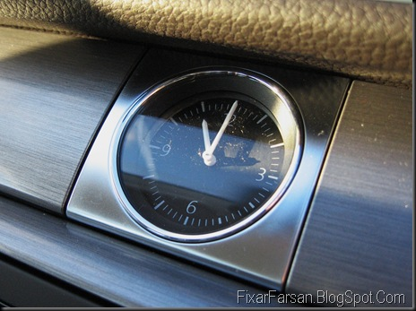 Analog Klocka Volkswagen Passat 2011 TDI Masters BlueMotion