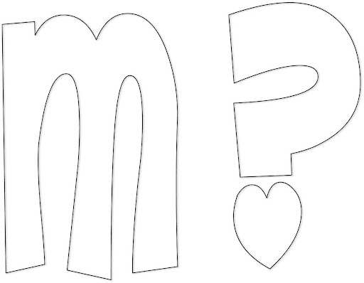 Moldes de letras mayúsculas y minúsculas - Imagui
