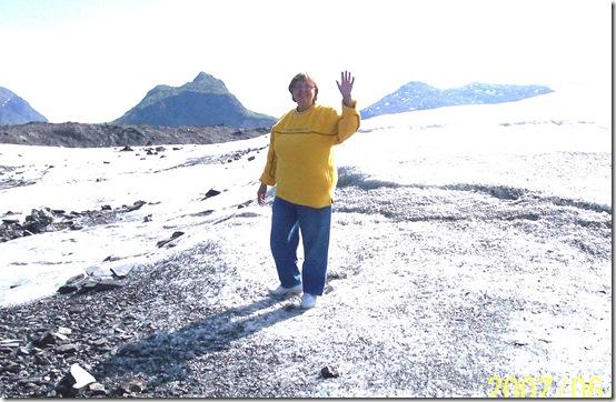 2007 Alaska Hiking on the Matanuska Glacier