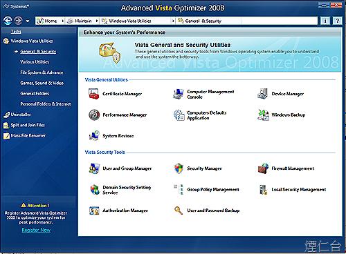 Advanced Vista Optimizer 2008-10