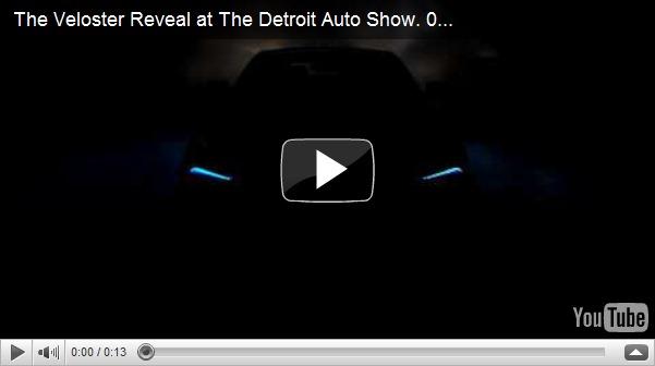 Hyundai Veloster tem video-teaser revelado