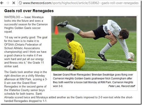 TheRecord - Gaels roll over Renegades - Google Chrome_2011-04-20_01-42-25