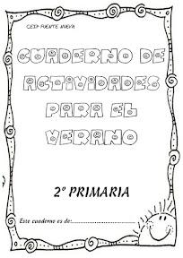 CUADERNO DE VACACIONES DE 2º PRIMARIA (1º parte)