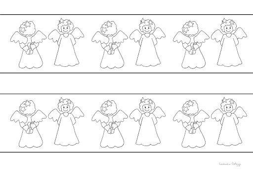 Cenefas de navidad para imprimir y colorear for Cenefas para dibujar