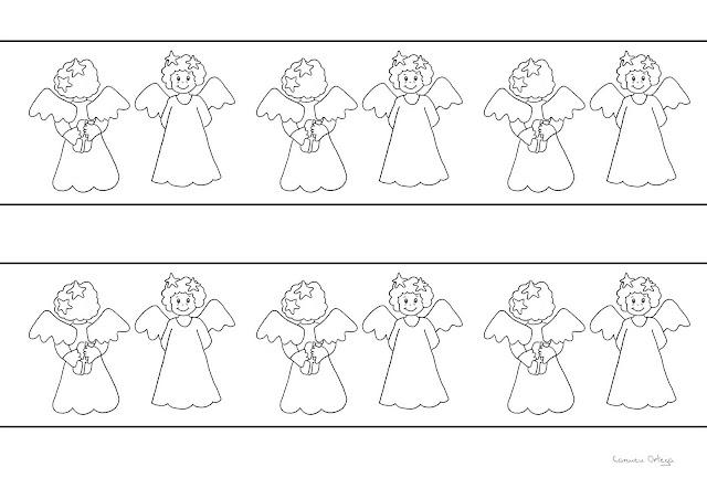 Cenefas de navidad para imprimir y colorear - Dibujos de cenefas ...
