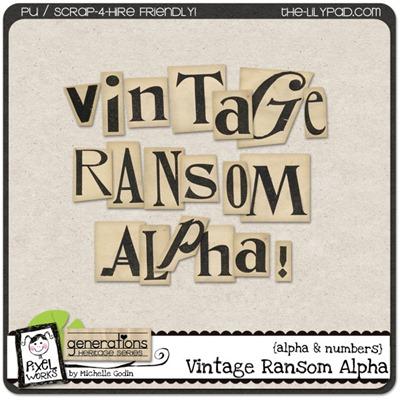 Vintage Ransom Alpha