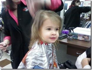 Anna haircut