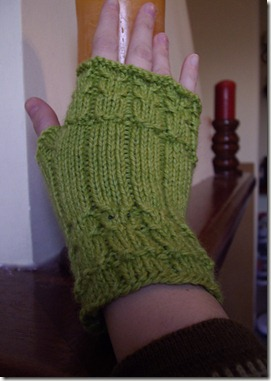 Owls glove by Destiknits