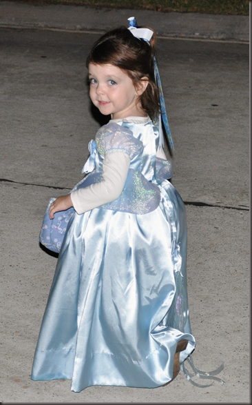 Lillian as Cinderella