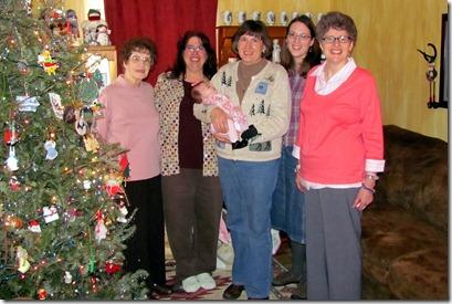Elaine's First Tea Party