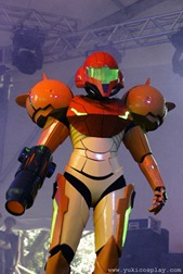 Samus_at_Stage_II_by_Yukilefay
