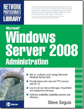 Microsoft Windows Server 2008 Administration (2008)