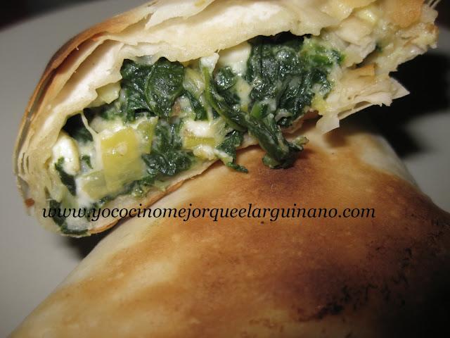Spanakopita: Empanada Griega de Espinacas