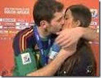 Foto de Casillas a Sara