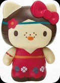 Hello Kitty Collectible Coin Bank: Hippie