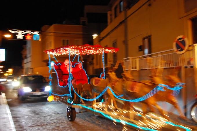 Papá Noel Vuelve a Arucas