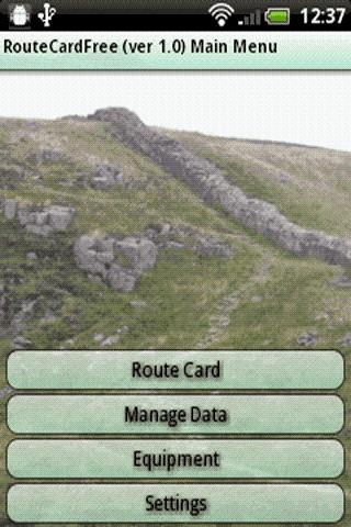 Route Card Free