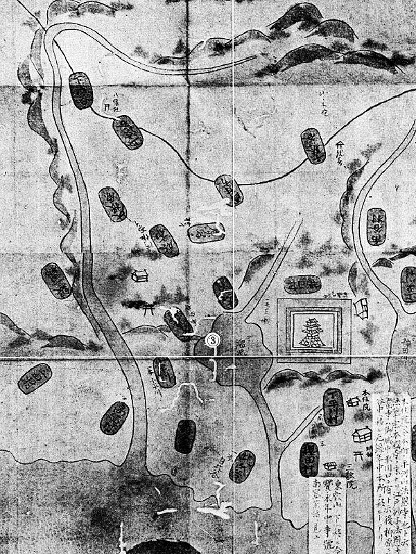 長禄年間図(1457-1460)