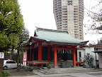麻布氷川神社 本殿