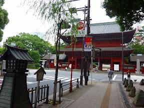 芝増上寺門前の碑