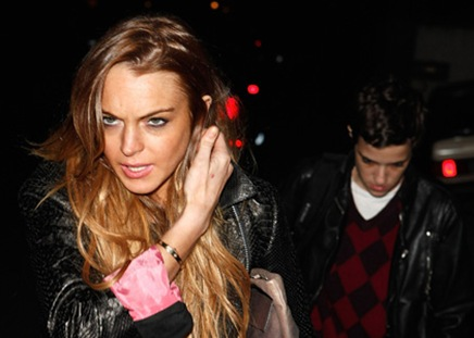 Lindsay Lohan and Samantha Ronson sighting on March 19, 2009 in