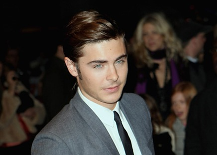 """Actor Zac Efron attends the """"17 Again"""" film premiere at the Odeo"""