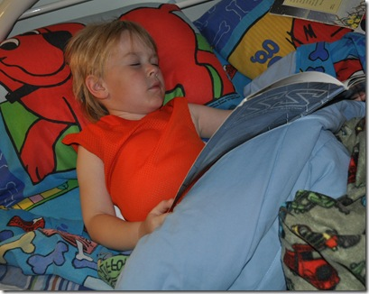 sleep reading