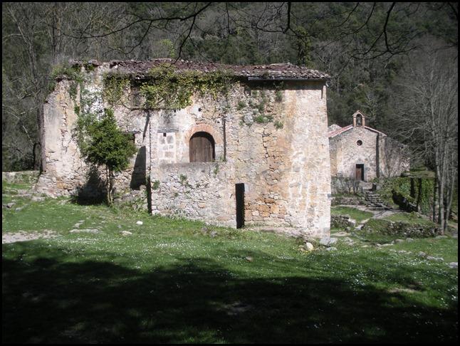 sant Aniol-sagristia i capella